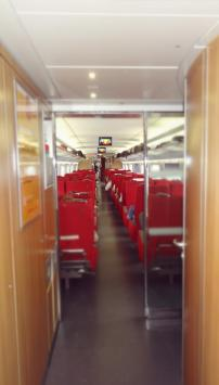 First Class section on-board Harmony