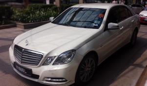 Blacklane Business Class: Mercedes E-Class