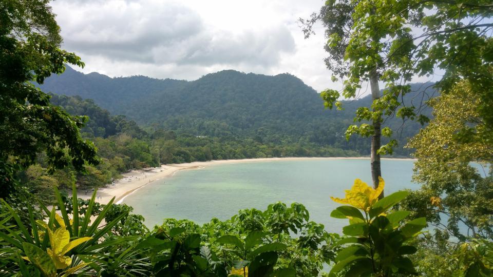 View from Spa Villa, The Andaman, Langkawi
