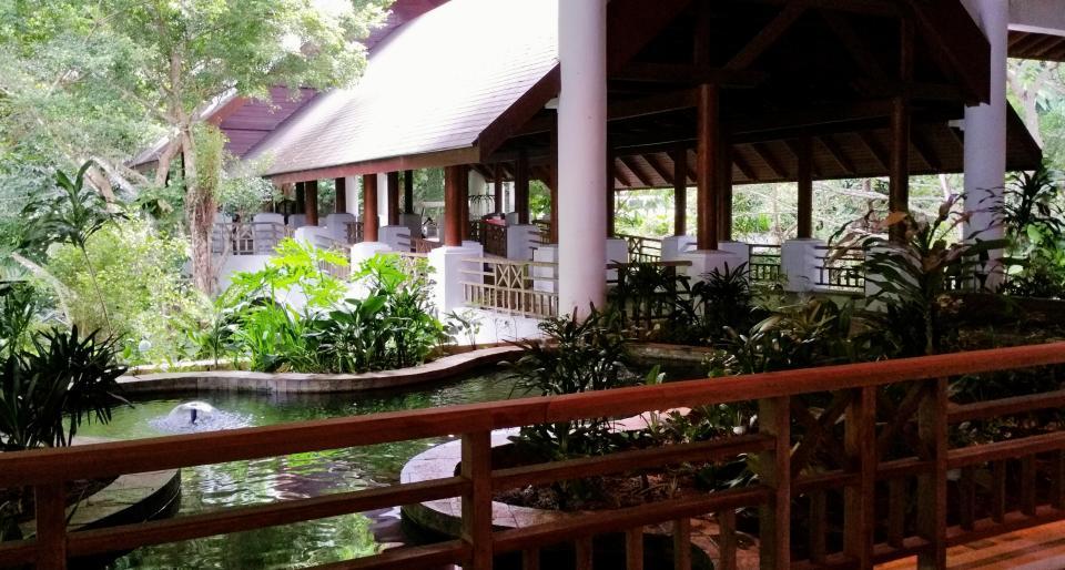 The Andaman, Langkawi entrance