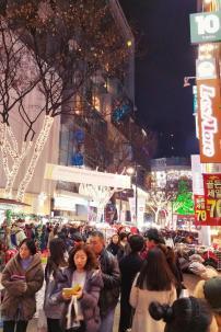 Myeong-dong night market