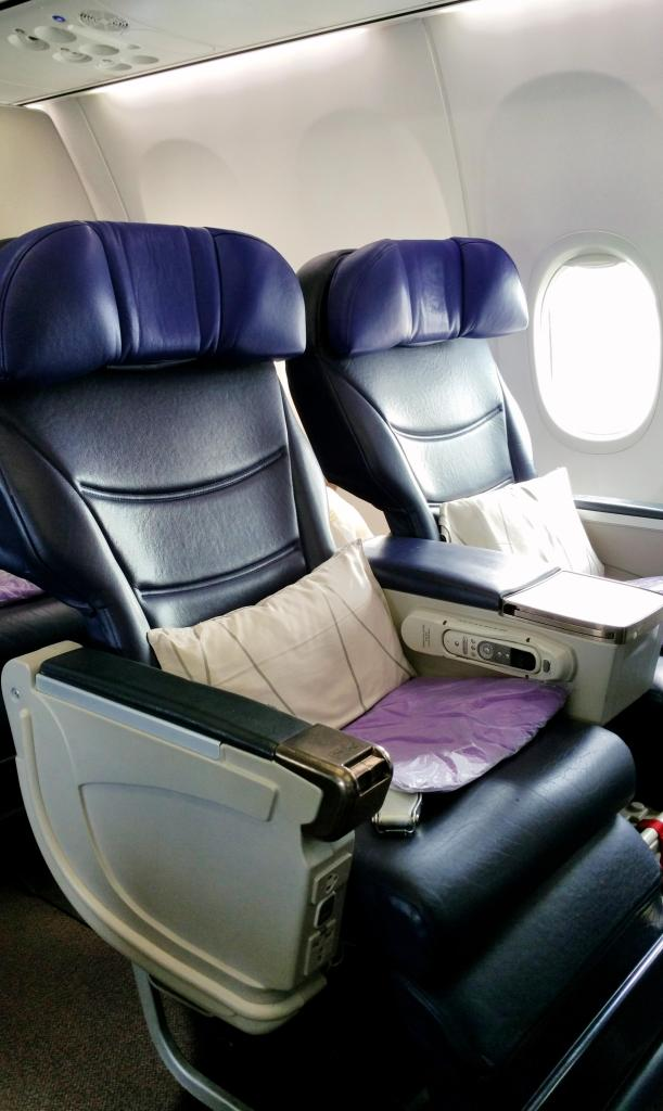 Malaysia Airlines 737-800 Business Class seats