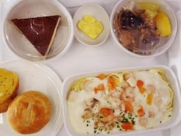 Malaysia Airline business class meal
