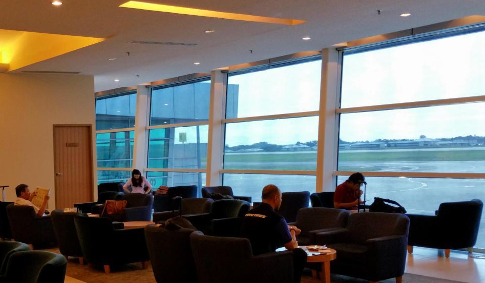 Malaysia Airlines Golden Lounge Kuching
