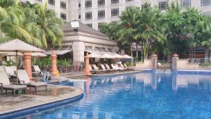 Infinity Pool at Mandarin Oriental Kuala Lumpur