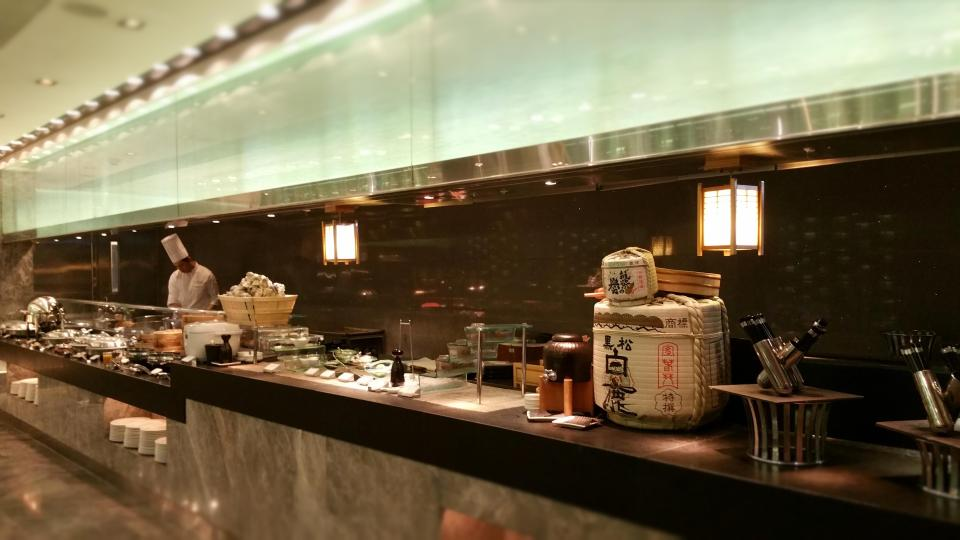 Breakfast buffet at Yamm, The Mira Hong Kong