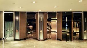 Lift lobby at The Mira Hong Kong