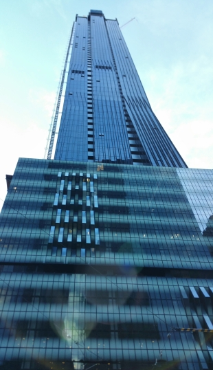 View of Collins Tower from Collins Street