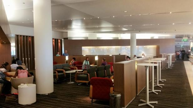 Qantas Sydney International Lounge