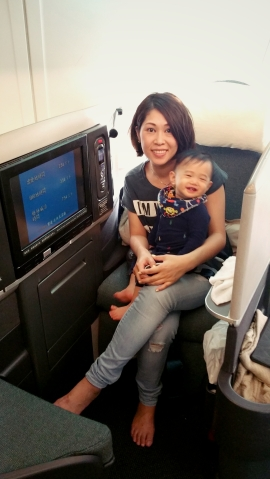 Cathay Pacific A340-300 Business Class Review – Travelling with an