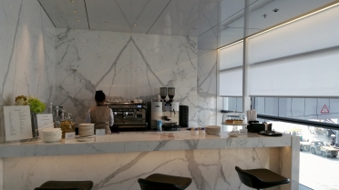 The Bridge Lounge at HKIA