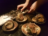 Turban shell bombs a la escargot