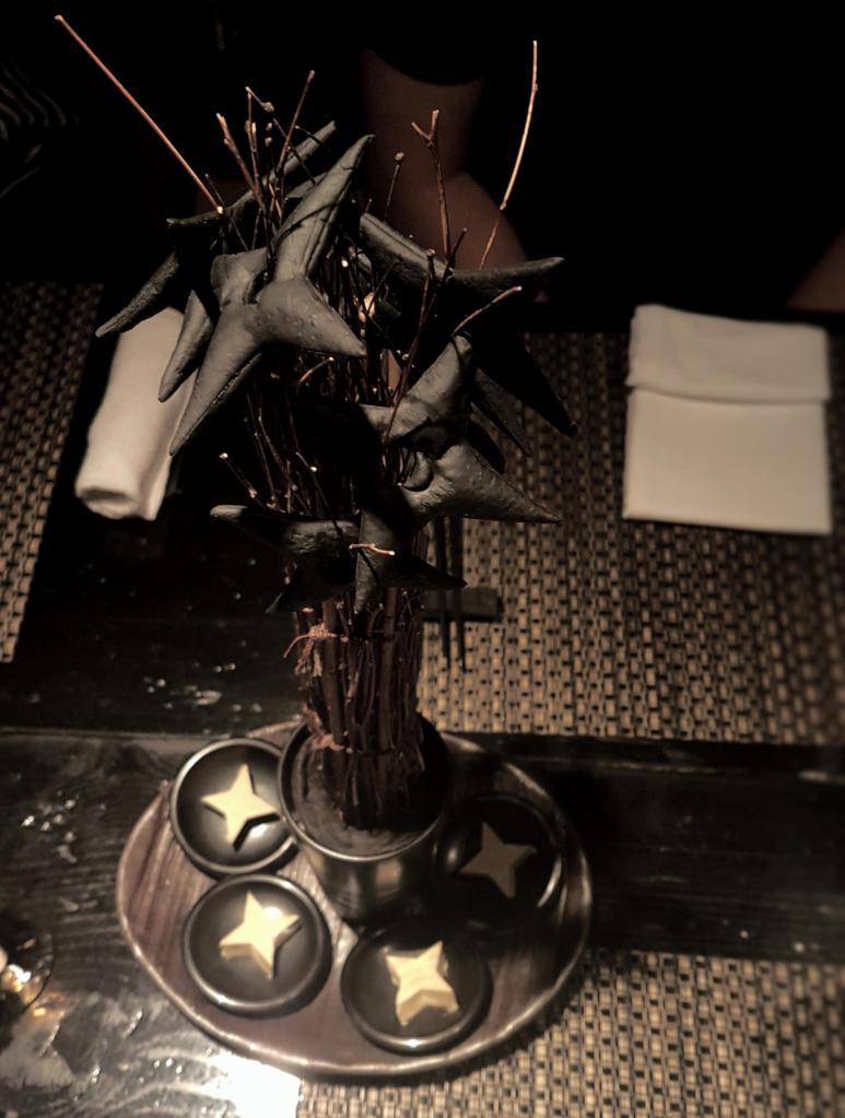 Shuriken star-blades grissini.