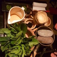 Yamato Course #6: Special stone-boiled soup (Japanese bouillabaisse)